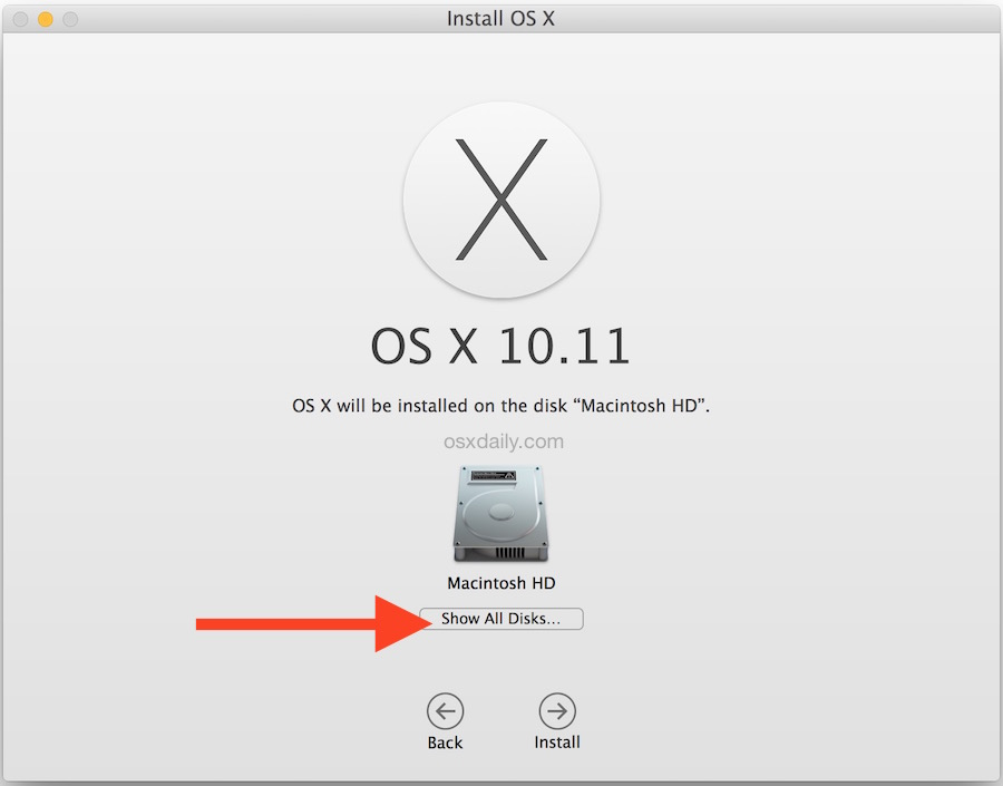 Install OS X 10 11 El Capitan on Hackintosh (Vanilla)