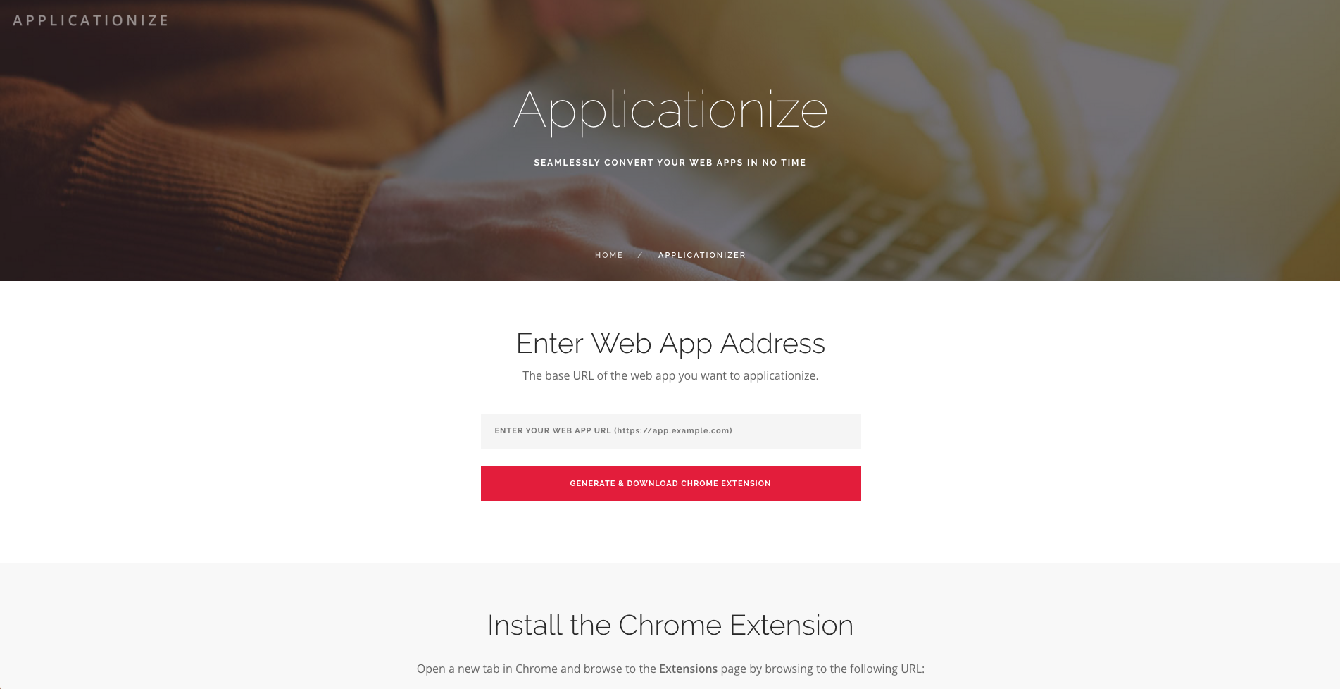 Applicationize
